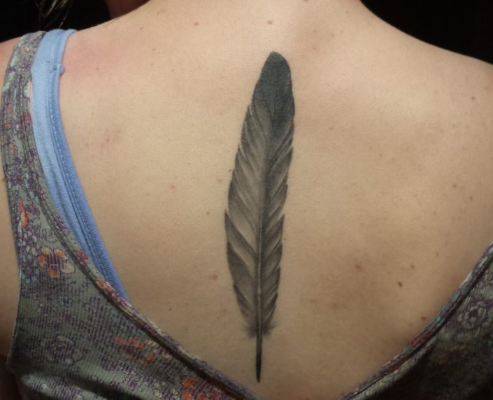Black & Grey Realistic/Realism Tattoo