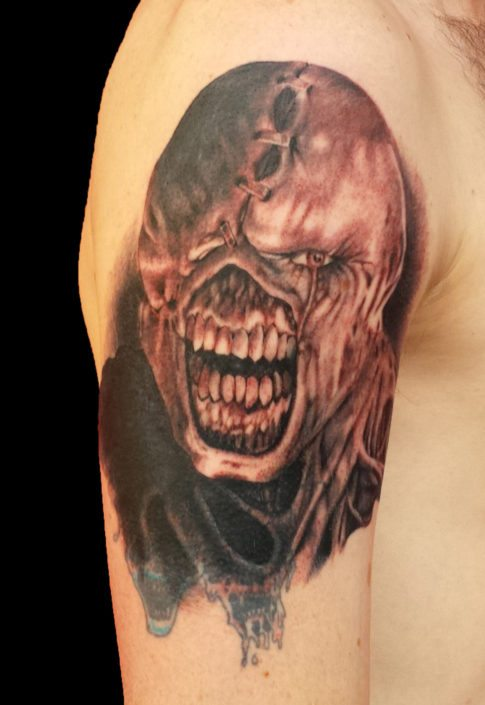 Dark/Horror Realistic/Realism Tattoo