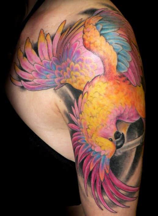 Animals Arm Birds Tattoo