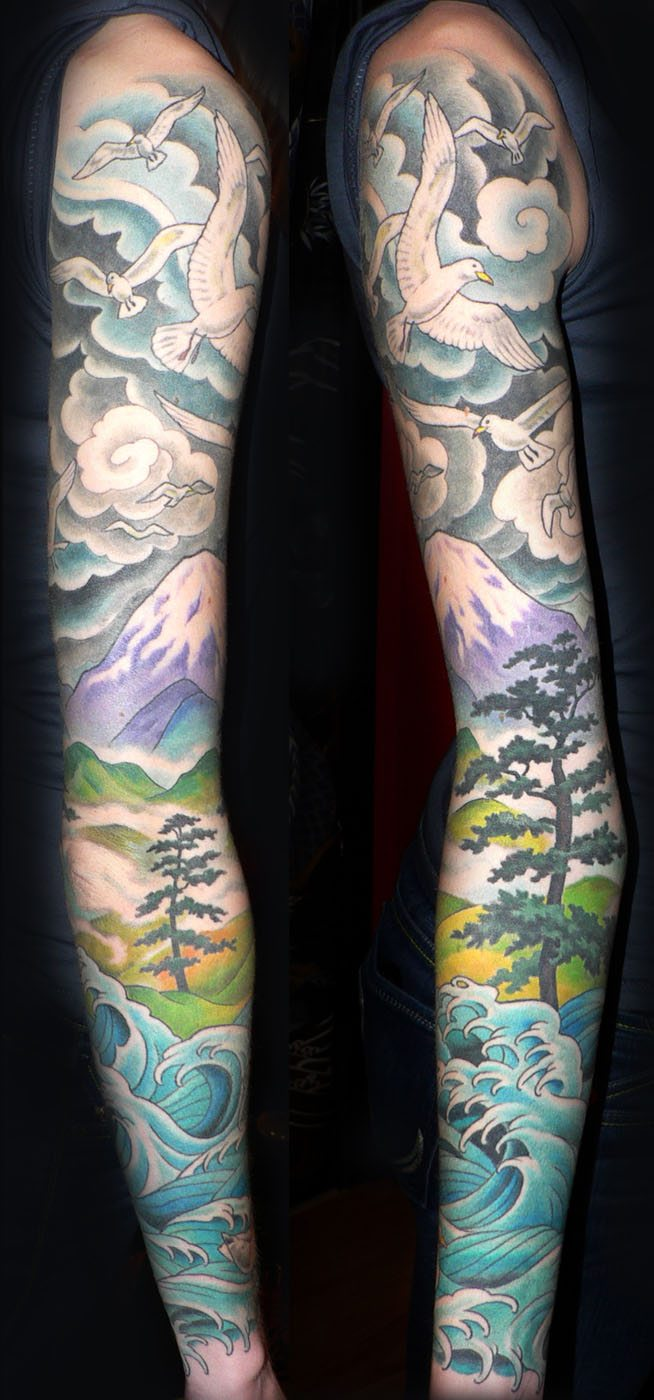 Sleeve Tattoo Artist: Slave To The Needle