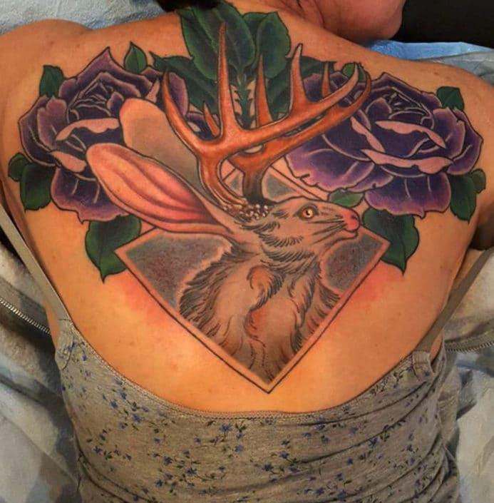 Animals Flowers Tattoo