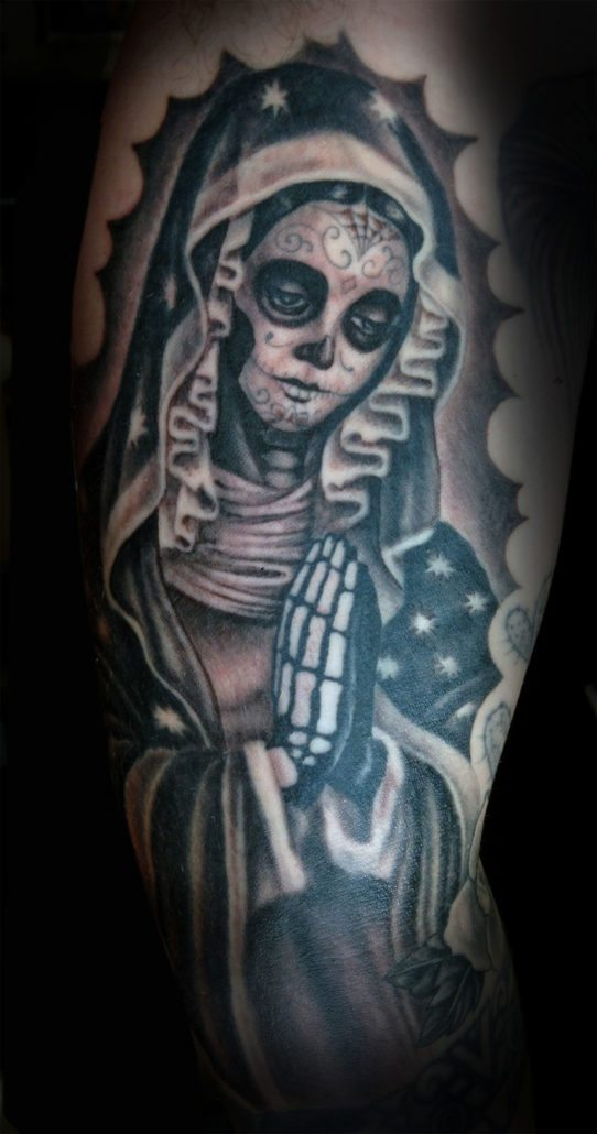 Catrina/Day of the Dead Realistic/Realism Religious/Spiritual Woman Tattoo