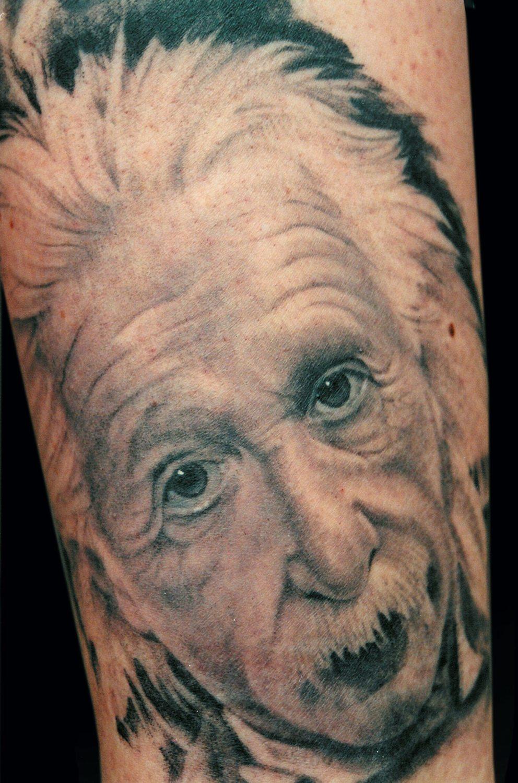 Black & Grey Portraits Realistic/Realism Tattoo