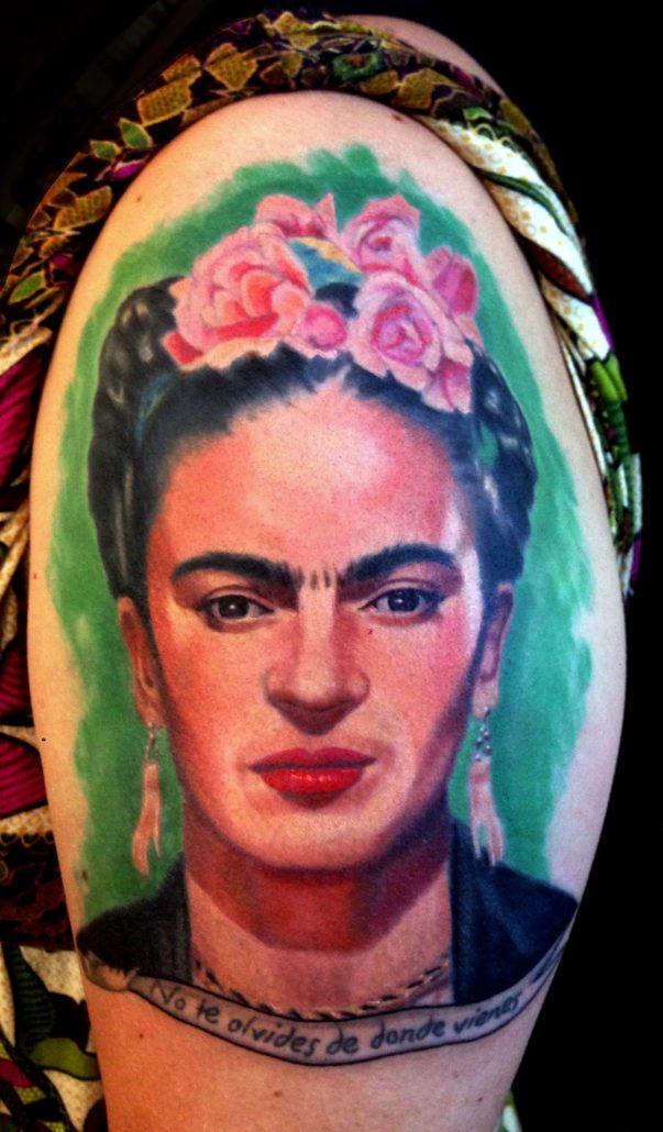 Portraits Realistic/Realism Woman Tattoo