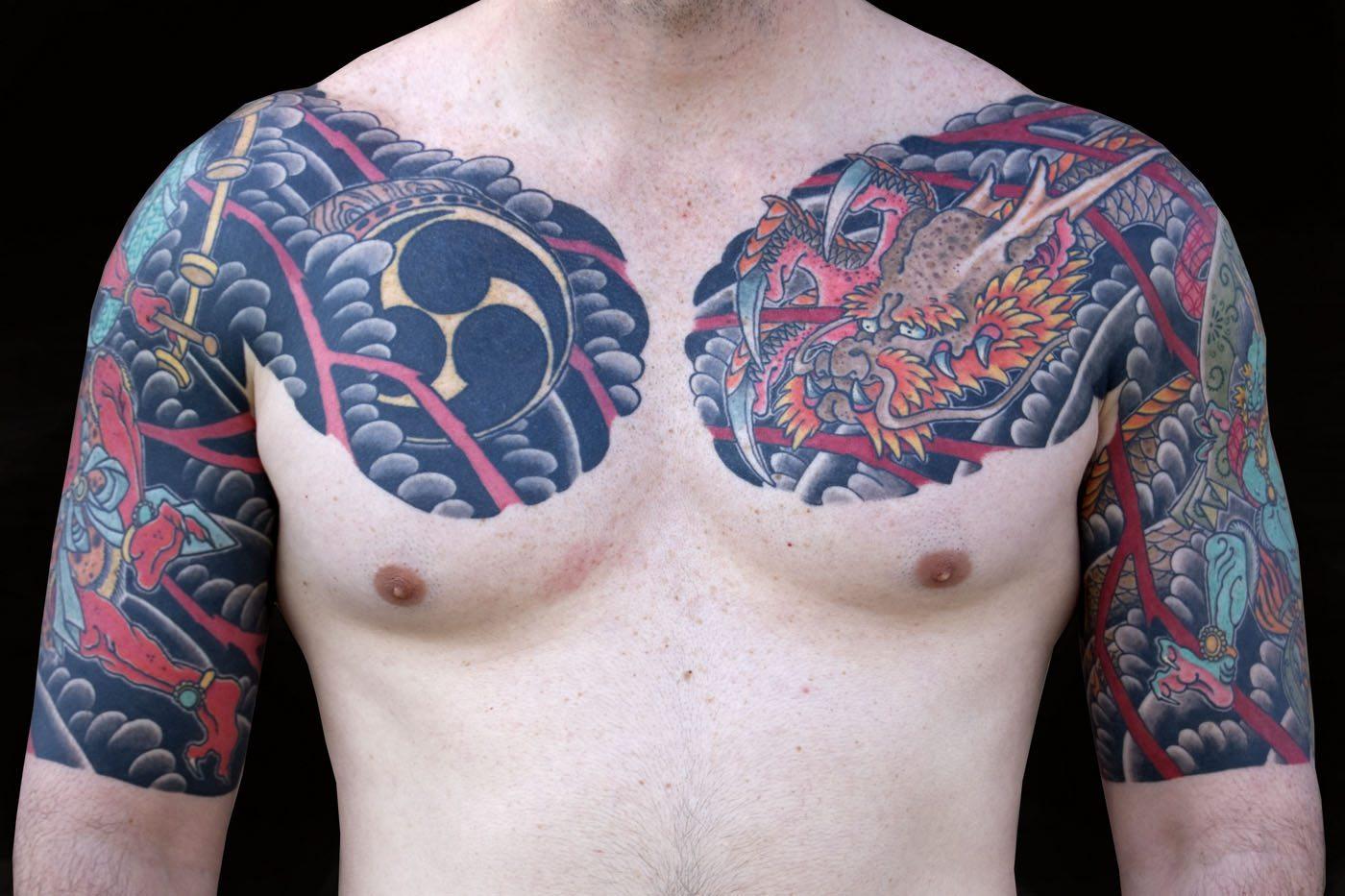 Japanese Mythology Tattoo