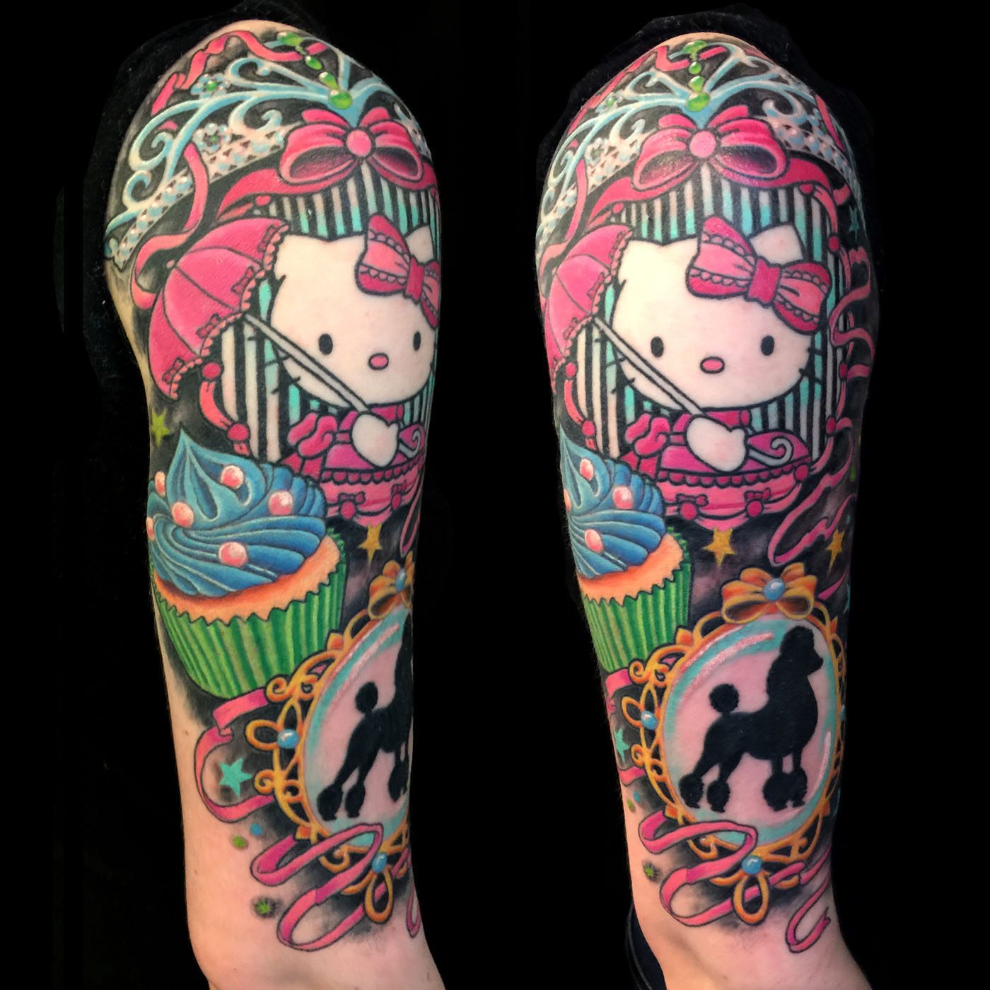 14a4a56870f0f Arm Pets Tattoo - Slave to the Needle