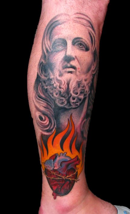 Realistic/Realism Religious/Spiritual Tattoo