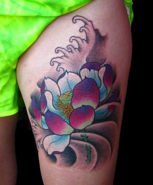 Flowers Japanese Tattoo