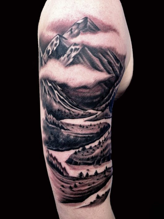 Arm Black & Grey Realistic/Realism Tattoo