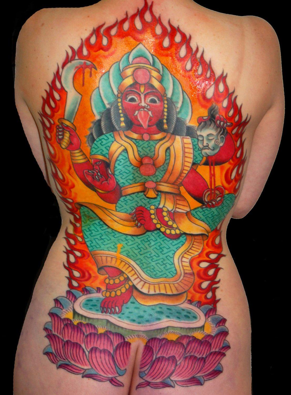 Backpiece Mythology Religious/Spiritual Tattoo