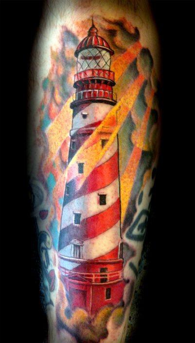 Neo-Traditional Tattoo