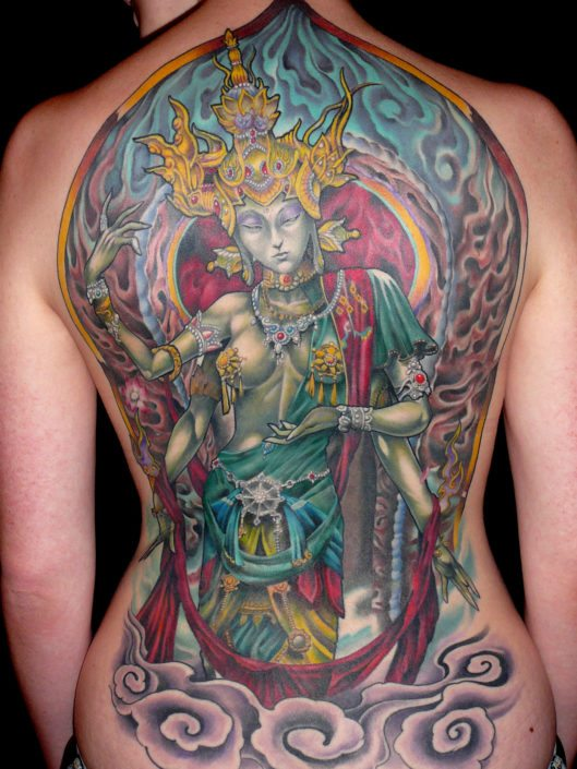 Backpiece Mythology Religious/Spiritual Tattoo