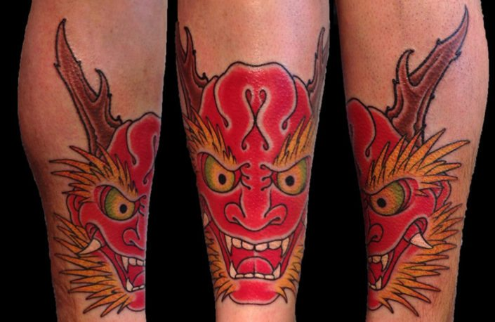 Hannya/Oni Japanese Tattoo