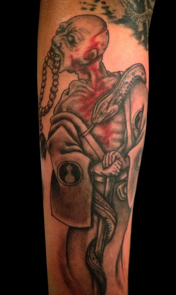 Dark/Horror Japanese Tattoo