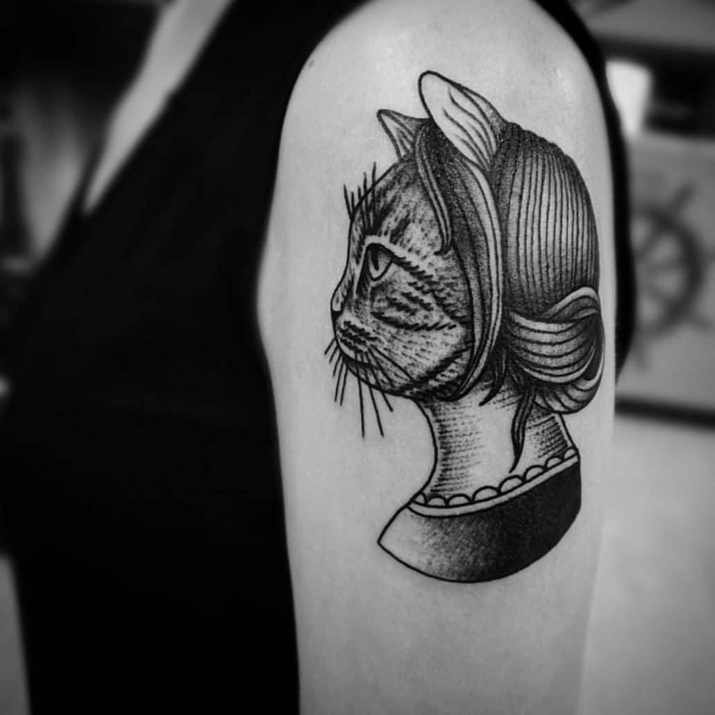 Animals Arm Tattoo