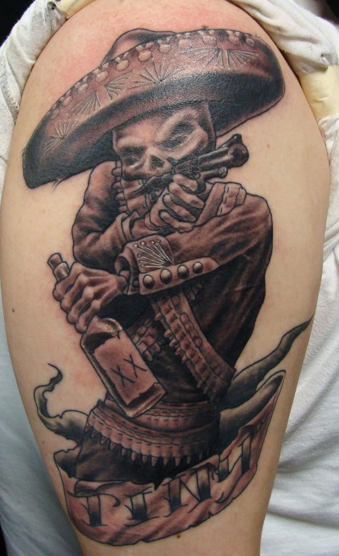Catrina/Day of the Dead Skull Tattoo - Slave to the Needle