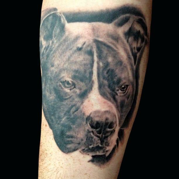 Black & Grey Pets Tattoo