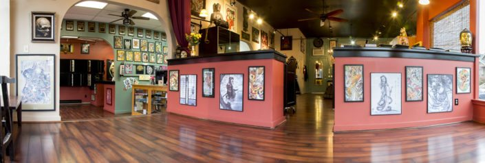 wallingford tattoo shop panorama