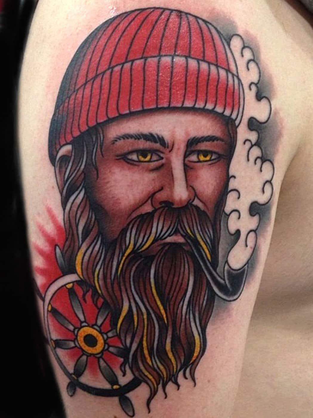 Arm Nautical Traditional/Americana Tattoo