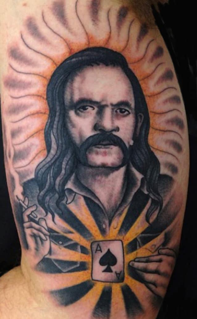 Arm Portraits Tattoo