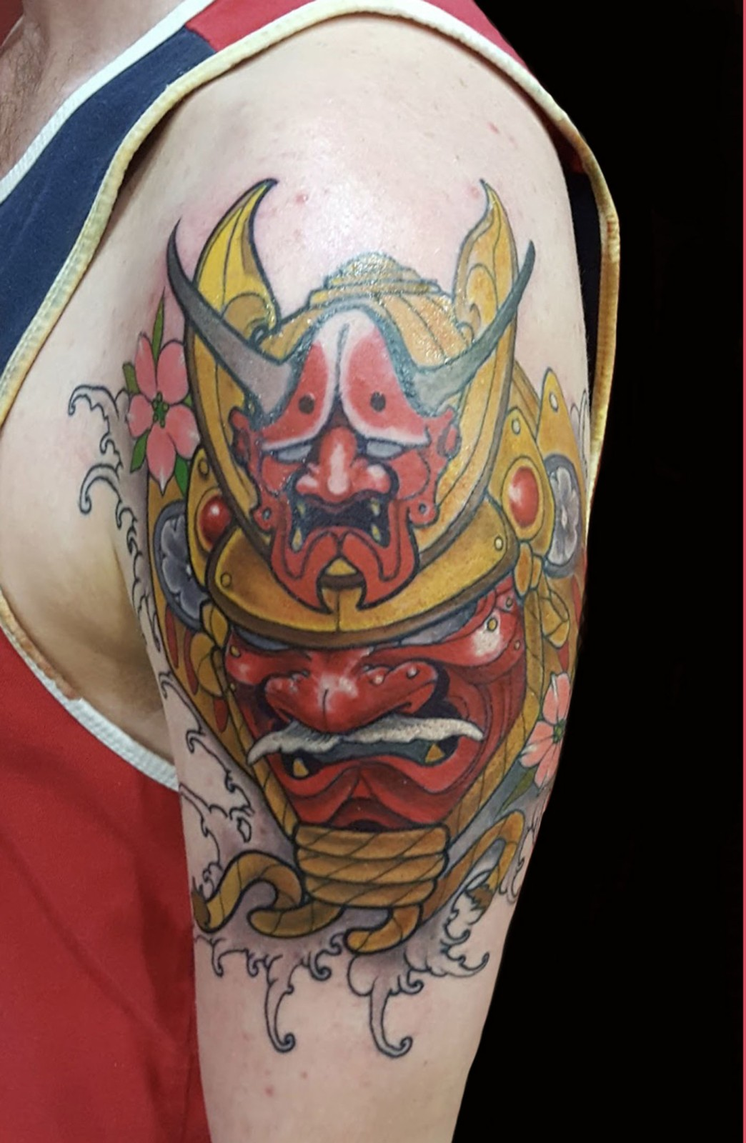 Samurai Tattoo Slave To The Needle