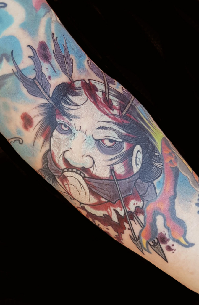 Arm Japanese Tattoo