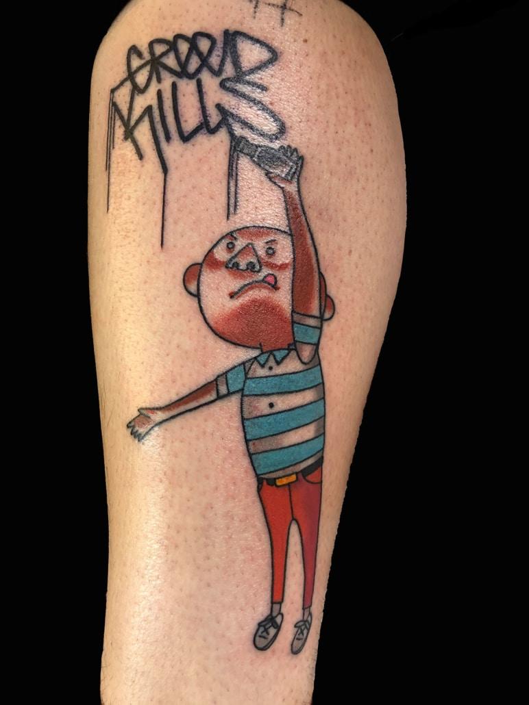 Arm cartoon Tattoo