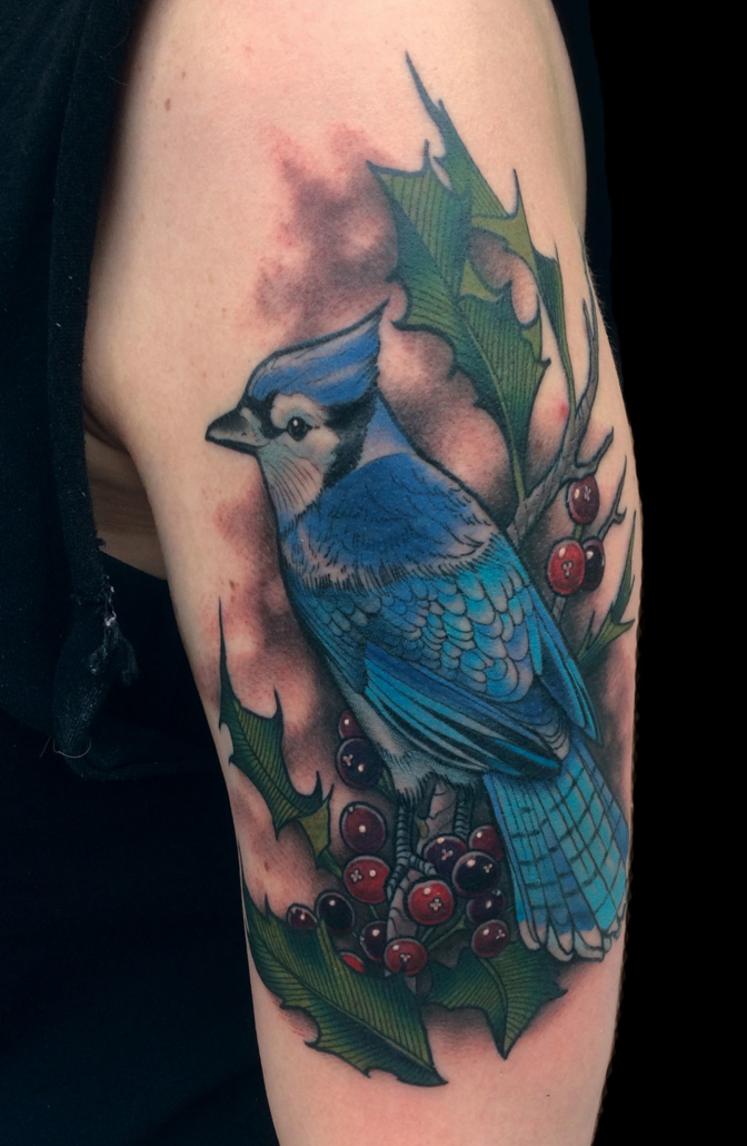 Animals Arm Birds Tattoo