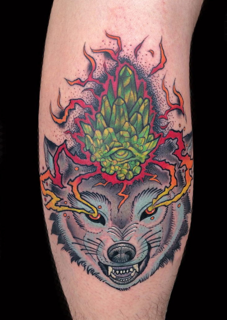 Animals Wolf Tattoo