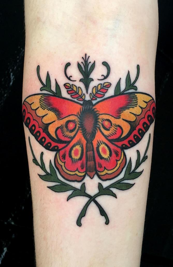 Animals Arm Traditional/Americana Tattoo