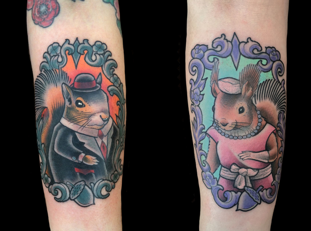 Animals Neo-Traditional Tattoo