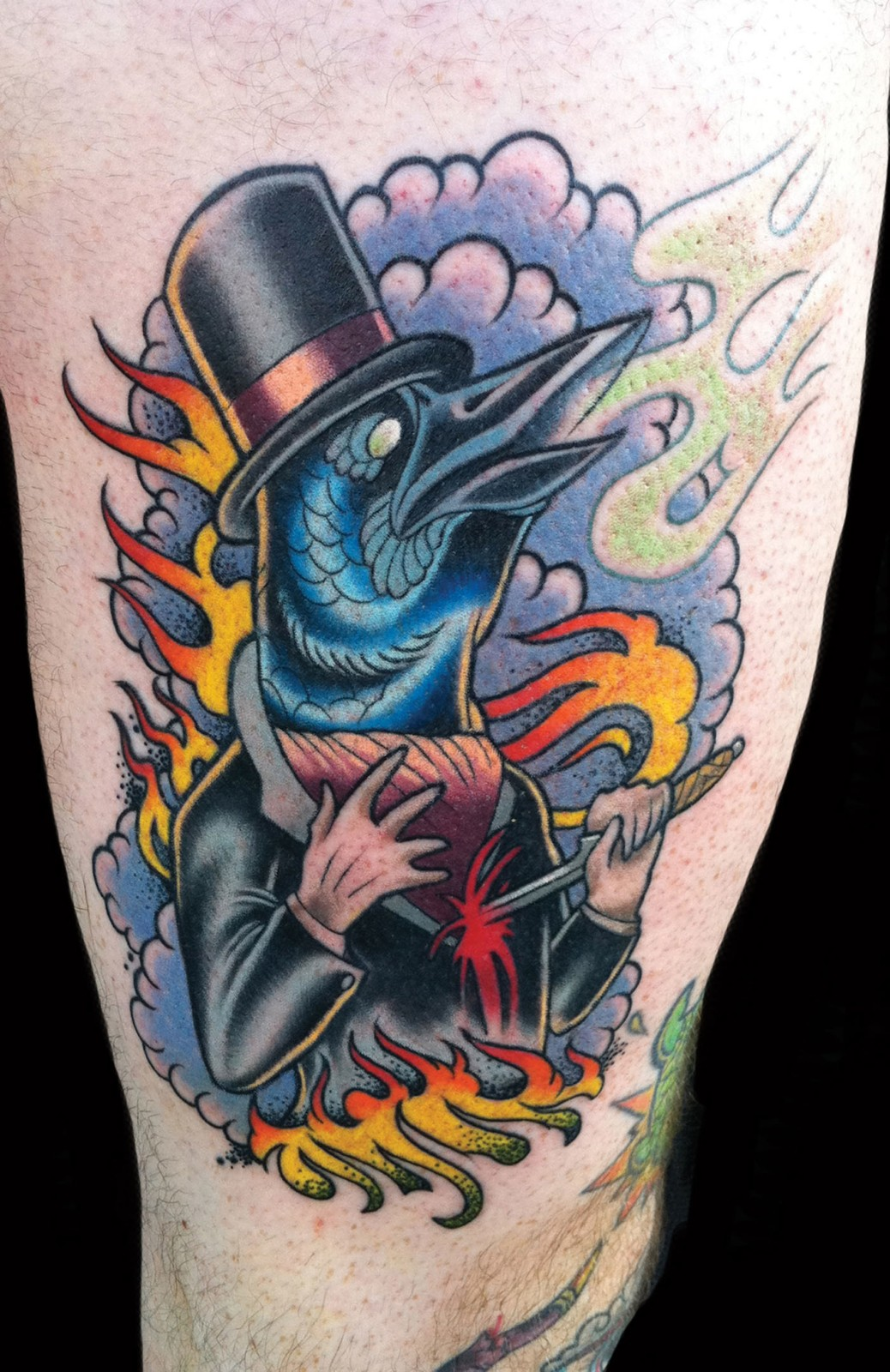 Crow tattoo 5